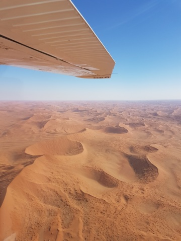 airplane tour Namibia