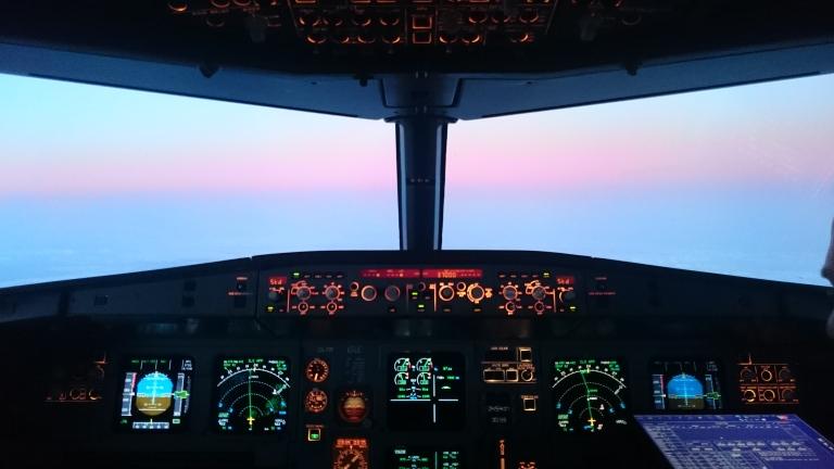 cockpit nascer do sol 2